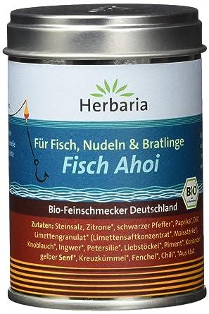"""1 Pack Herbaria /""""Fisch Ahoi/"""" Fischgewürz M-Dose BIO 1 x 85 g"""