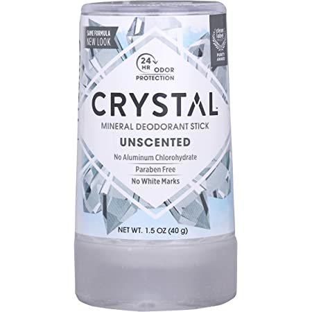 CRYSTAL Deodorant Mineral Deodorant Stick, Travel, 1.5 Ounce