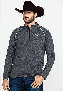 Cowboy Hardware Men's 1/4 Zip Sports Knit Heather Pullover - 173142-014