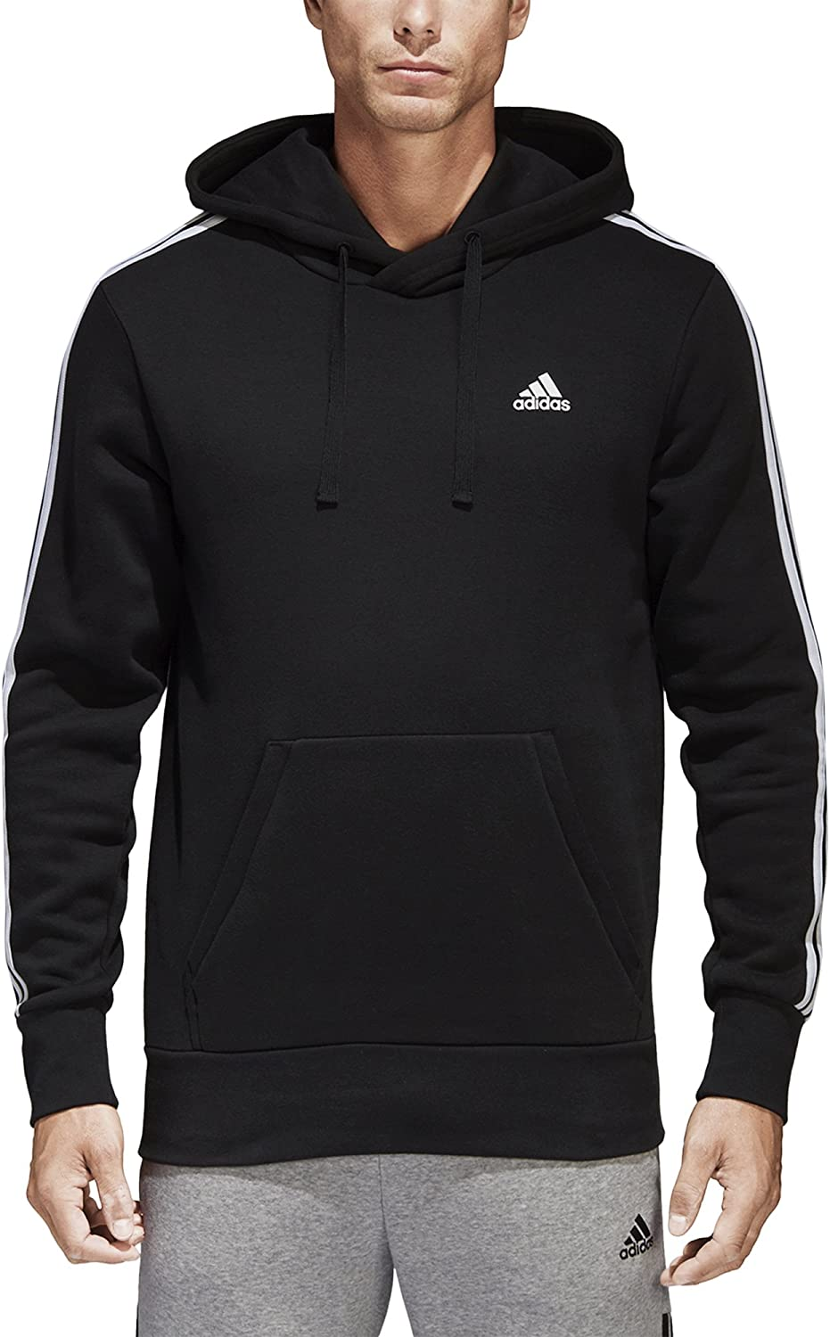 adidas Men's Essentials Free Purchase shipping New Hoodie Pullover 3-Stripe