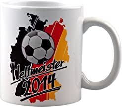 Deutschland Ball Germany Fußball Fan Mug WM EM vanVerden Tasse