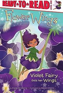 Violet Fairy Gets Her Wings (1) (Flower Wings)