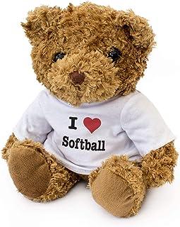 全新 - 我爱垒球 - 泰迪熊 - 可爱柔软可爱 - 生日礼物 圣诞情人节