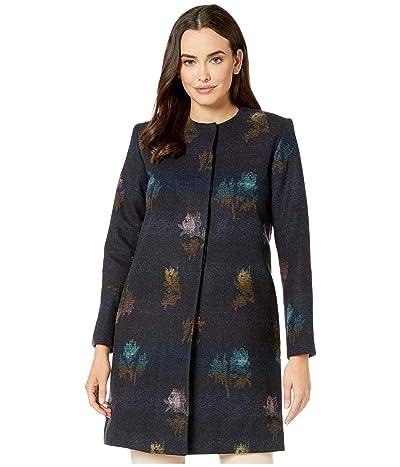 Pendleton Rose City Wool Coat (Rose City Jacquard) Women
