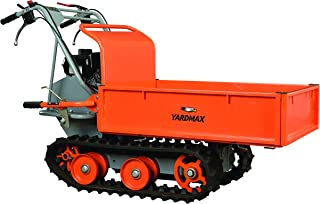 YARDMAX YD8203 Track Barrow, Briggs and Stratton, CR950, 6.5 hp, 208cc, 660 lb. Capacity