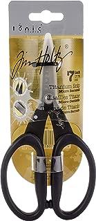 Tonic Studios Tim Holtz 817 Kushgrip Non Stick Micro Serrated Snips, 7