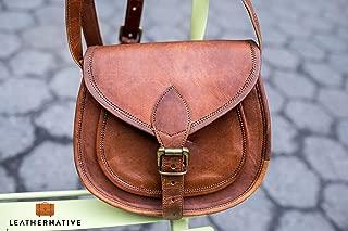 handmade leather saddlebags