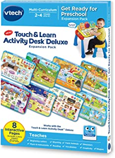 VTech Touch and Learn Activity Desk Deluxe Expansion Pack - Get Ready for Preschool