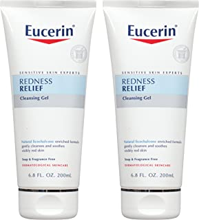 Eucerin Redness Relief Soothing Cleanser 6.80 oz (Pack of 2)