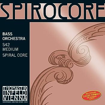 Thomastik Cuerda para Contrabajo 4/4 Spirocore - cuerda Sol núcleo ...