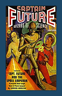 Retro Sci-Fi Journal, Captain Future Wizard of Science by Monkey up a Tree