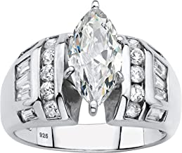 Best tapered baguette wedding ring Reviews