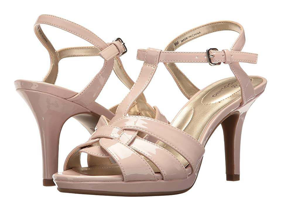 Bandolino Sarahi (Light Pink Super Soft Patent Pu) Women