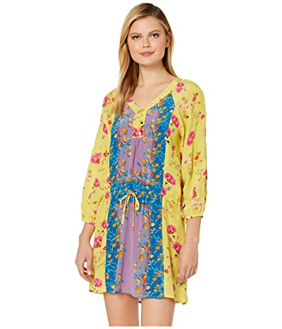 Tolani Capri Tunic Dress (Lemon) Women