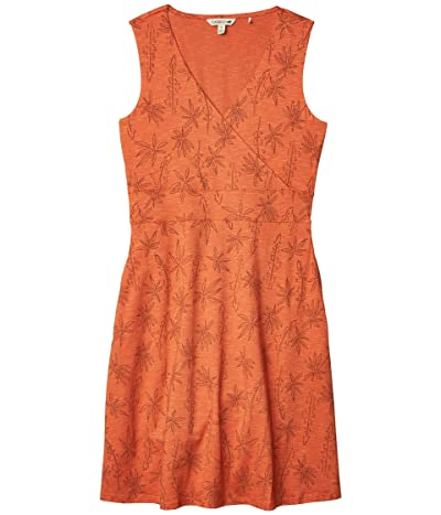 Toad&Co Cue Wrap Sleeveless Dress (Poppy Airy Floral Print) Women