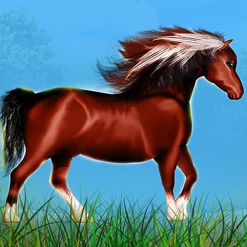 Pferd Pony wilden Agilität Rennen: der Wald gefährlichen Weg - Gratis-Edition
