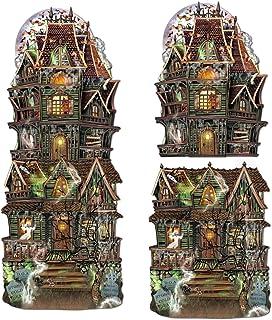 Beistle Jumbo Haunted House Cutouts, papel, 63,5 cm