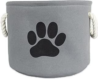 Bone Dry DII Medium Round Pet Toy and Accessory Storage Bin