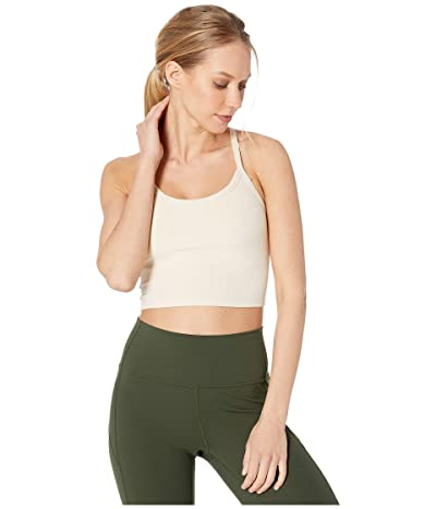 Beyond Yoga Spacedye Slim Racerback Cropped Tank Top (Sandstone/Almond) Women