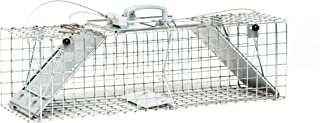 Havahart 1062 Easy Set Two Door Cage Trap for Rabbits, Skunks and Squirrels