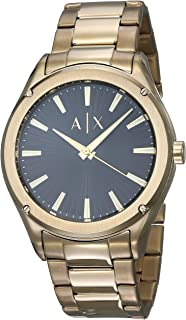 Armani Exchange Fitz Black Gold Watch AX2801 AX2801
