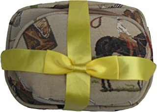 SAINTY 06 2 Piece Horse Cosmetic Case, Tapestry
