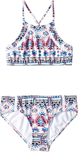 Aztec Folk Tankini (Little Kids/Big Kids)
