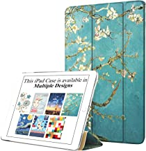 DuraSafe Case for iPad Air 1 Gen 2013-9.7 Inch [ A1474 A1475 ] Printed Smart Cover with Translucent Back, Auto Sleep/Wake - Blossom (Trifold)