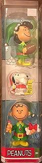 Peanuts 3 Piece Christmas Figurine Set