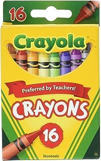 Crayola Crayons, School Supplies, Assorted Colors, 16 Count