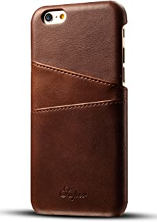 iPhone 6S Plus/6 Plus Wallet Phone Card Holder Case Slim Leather Back Cover