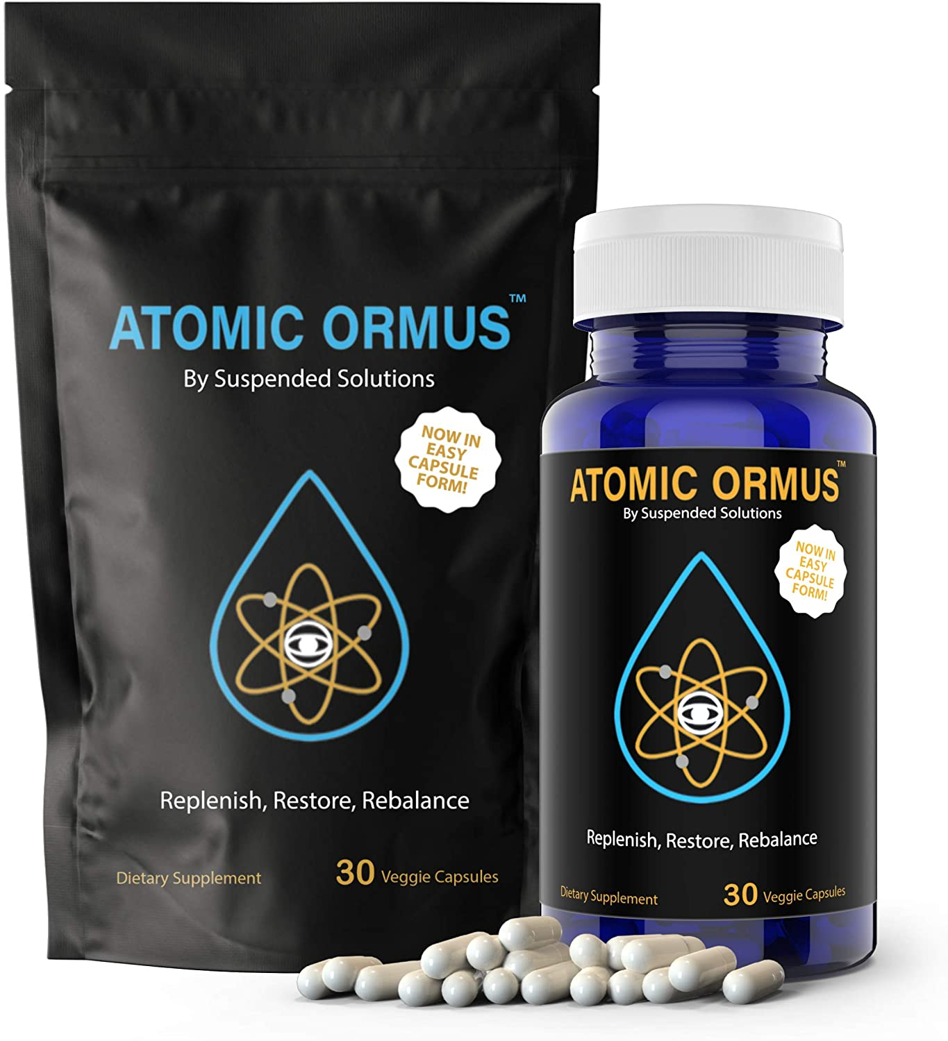 Suspended Solutions - Atomic 5% OFF ORMUS MONATOMIC C Capsules Gold free shipping