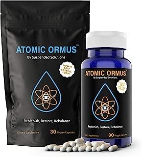 Atomic ORMUS - Capsules - MONATOMIC Gold Capsules - 100% Pure ORMUS Powder - 100% Vegan - ormus Gold, monatomic Gold,(30 Capsules)