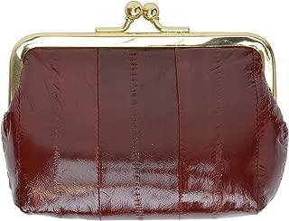 Genuine Eelskin Soft Leather Change Purse Organizer by Marshal