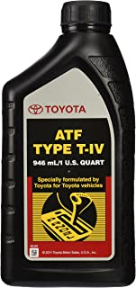 Genuine Toyota 00279-000T4-01 Toyota 00279-000T4-0 Lexus ATF Automatic Transmission Fluid, 32 Ounces