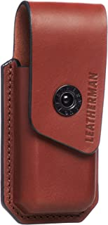 LEATHERMAN - Ainsworth Premium Leather Sheath for Multitools, Fits Supertool 300, Surge, Signal, OHT & More