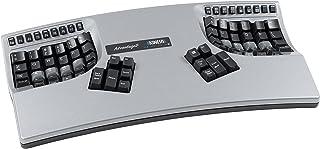 Kinesis Advantage2シルバー・エルゴノミックキーボード(KB605)