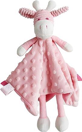 ES Kids Giraffe Comforter, Pink