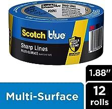 Scotch Painter's Tape 2093EL-48E FBA_2093EL-48E Painter's Tape, 1.88-Inches x 60-Yards, 1 Roll, 12 Packs Per Case, Width, Piece