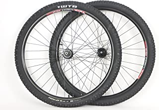 WTB 29 inch 29er Speed Disc All Mountain Rims with Prowler SL 29 x 2.10 Tires Tubes and Sealed Bearing Disc Brake Hubs
