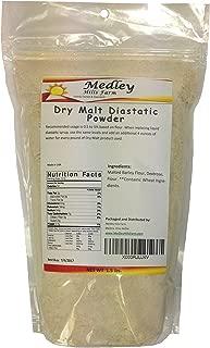 Dry Malt Powder Diastatic 1.5 lbs by Medley Hills Farm , Made in the USA