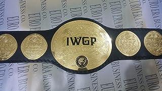 Wrestling Replica Belts New IWGP Tag Team Belt, Adult Size & Metal Plates, IWGP Tag Team Champion Belt