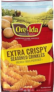 Ore-Ida Frozen X Crispy Seasoned Crinkles (26 oz Bag)