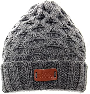 Aran Traditions Aran Cable Knit Beanie Hat