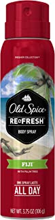 Old Spice Fresh Collection Fiji Men's Body Spray 3.75 Ounce