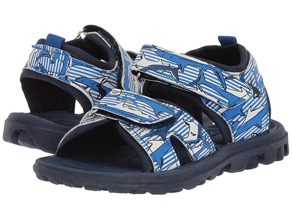 Joules Kids Rock Water Sandal (Toddler/Little Kid/Big Kid) (Shark Dive Stripe) Boys Shoes
