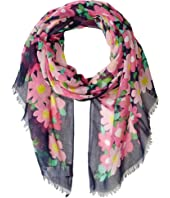 Kate Spade New York - Vintage Garden Oblong Scarf