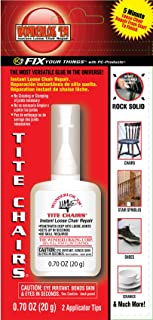Wonderlokking/Division of PC-Products Wonderlockking 208113 PC Products, Instant Loose Joint & Furniture Repair Adhesive, 20 Gram Bottle 20G Tite Chair Glue