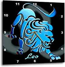 dpp_918 Zodiac Signs Horoscope - لافتة Leo Zodiac - ساعات حائط, 10x10 Wall Clock