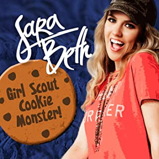 Girl Scout Cookie Monster